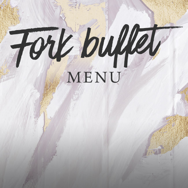 Fork buffet menu at The Rambler's Rest
