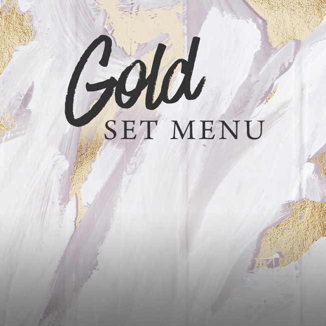 Gold set menu at The Rambler's Rest