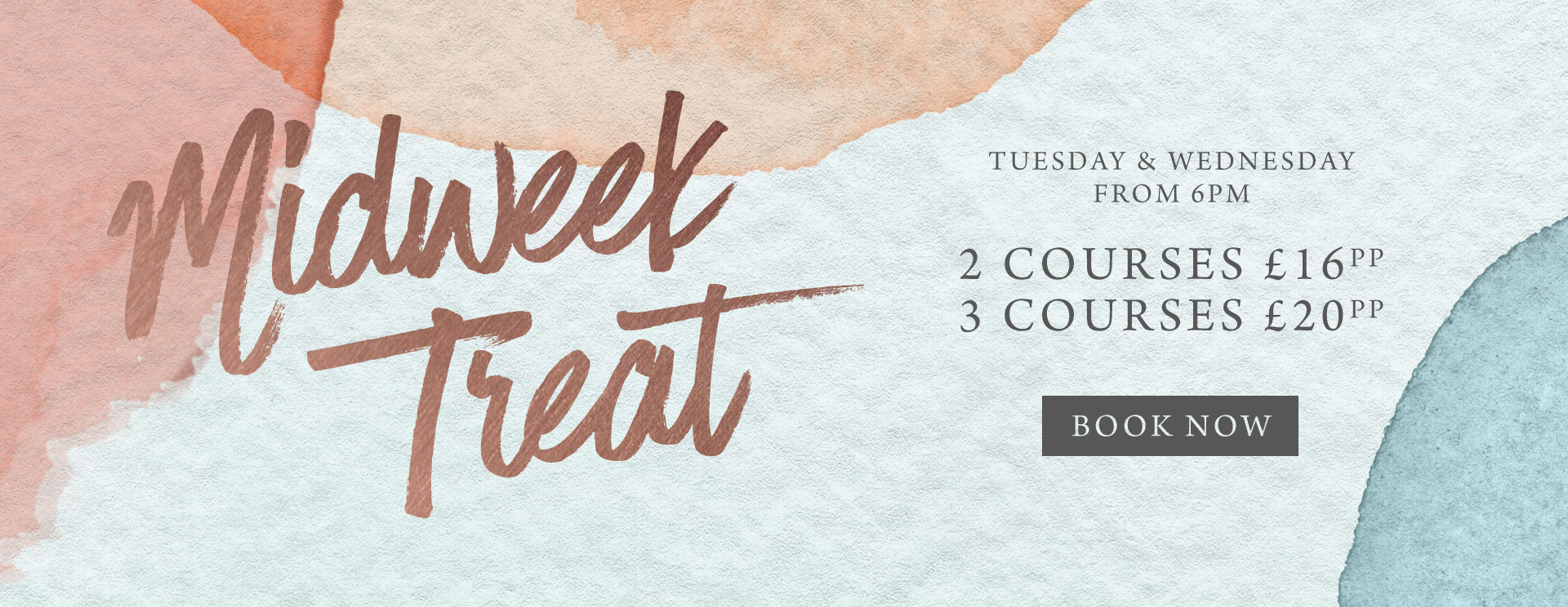 Midweek treat at The Rambler's Rest - Book now