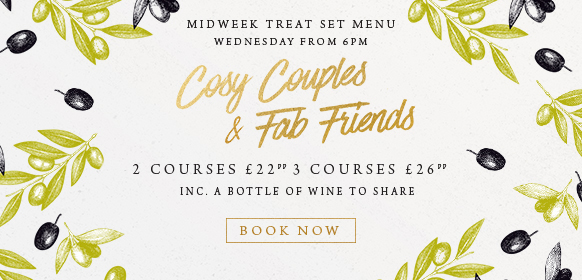 Midweek treat set menu at The Rambler's Rest
