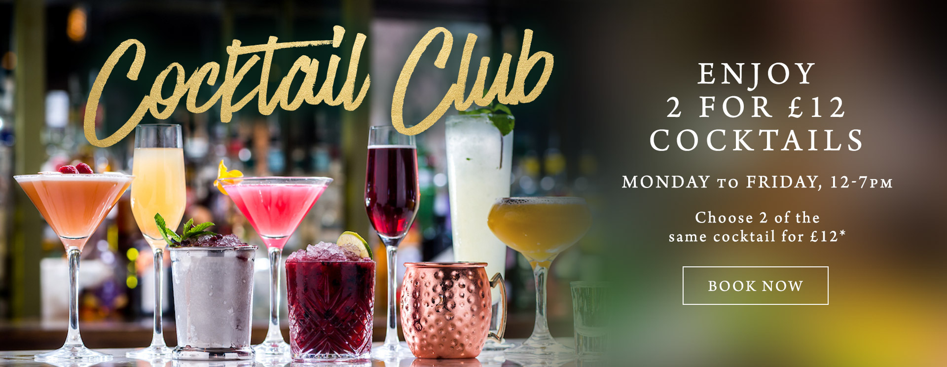 2 for £12 cocktails at The Rambler's Rest